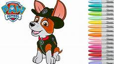 paw patrol malvorlagen tracker paw patrol coloring book tracker coluring pages