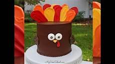 Easy Turkey Cake Tutorial