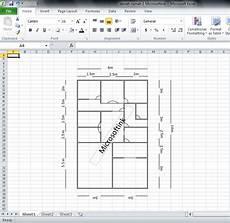 Membuat Denah Rumah Dengan Microsoft Excel Microsoftink