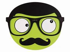 wanduhr mr mustache nextime gr 252 n wanduhren wanduhr