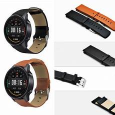 Bakeey 22mm Canvas Leather Smart by Bakeey 22mm Genuine Leather Smart Band For Xiaomi