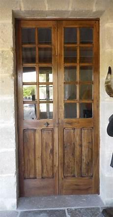 Exemple De Porte Vitr 233 E Ancienne 2 Vantaux Portes