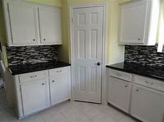 How To Paint Kitchen Tiles Before And After by Kitchen Glass Mosaic Tile Floor Tile Paint Before And