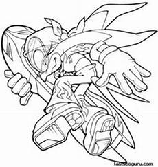 Sonic The Hedgehog Jet Coloring Pages Sonic With Underground Borther And Coloring