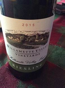 willamette valley heelers 2015 willamette valley vineyards riesling usa oregon