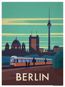 Vintage Berlin - ideastorm studio store berlin city poster