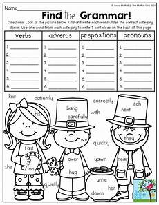 find the grammar such a fun way to practice parts of speech in second grade by carrie