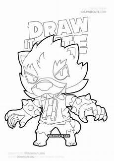 Gratis Malvorlagen Werwolf How To Draw Brawl Draw It In