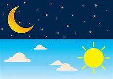 ejemplo del vector de d 237 a y noche concepto sol y de la noche del d 237 a ilustraci 243 n del