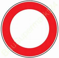original verkehrszeichen 250 durchfahrt verbot
