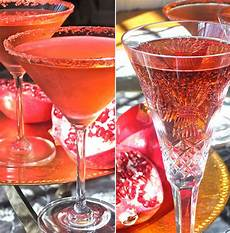 easy thanksgiving cocktail recipe pomegranate and