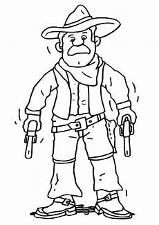 cowboy coloring pages getcoloringpages