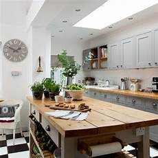 Modern Country Kitchen Island Ideas by Shaker Meets Modern Family Kitchen Diner Family Kitchen