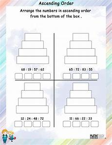 writing numbers in ascending and descending order worksheets 21206 ascending descending order grade 1 math worksheets
