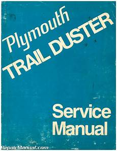 plymouth service repair manual download pdf used 1974 plymouth trail duster service manual