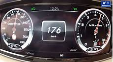 300 Mph In Kmh - check out an s 63 amg w222 go from 0 to 176 km h 109 mph