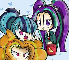 the dazzlings my pony equestria