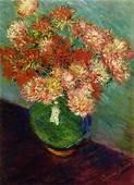 Vase Of Chrysanthemums C1882  Claude Monet WikiArtorg