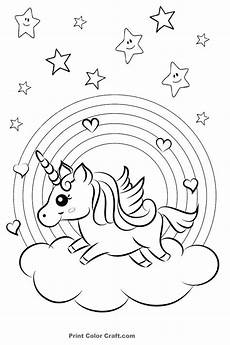 printable colors coloring pictures 12733 rainbow and hearts colorful unicorn coloring pages with images unicorn coloring pages