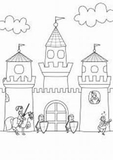 Malvorlagen Ritterburg Junior Kostenlose Ausmalbilder Und Malvorlagen Ritter Und