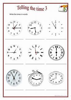 telling the time 3 worksheet free esl printable worksheets made by teachers