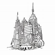 Malvorlagen New York Skyline So Malen Sie Die Skyline Aus Mittel