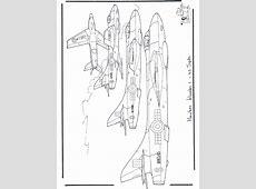 Hawker Hunter   Kleurplaten vliegtuigen