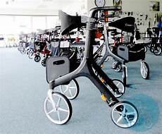 carbon medium rollator laden