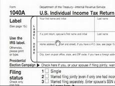 how to complete a 1040a tax form do you need a 1040a tax