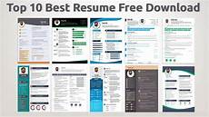 best resume templates free download 2019 youtube