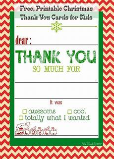 free printable christmas thank you cards for kids free christmas printables christmas thank