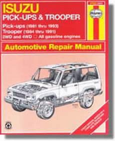 chilton car manuals free download 2002 isuzu trooper engine control 2002 isuzu trooper maintenance manual accaui