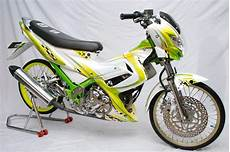 Motor Satria Fu Modifikasi by Kumpulan Modifikasi Motor Satria Fu 150 Terbaru Terbaik