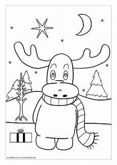 Ausmalbilder Weihnachten Elch Ausmalbilder Zu Weihnachten Hol Dir 5 Kostenlose Bilder