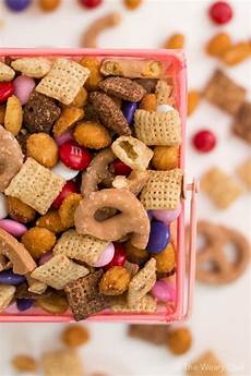 gluten free holiday snack mix the weary chef