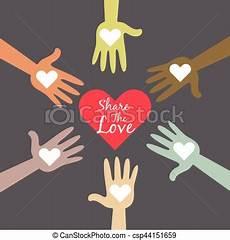 Multi Partage Amour Color 233 Symbole Mains Multi