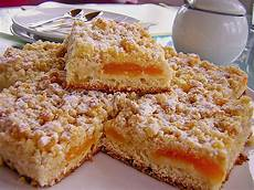 aprikosenkuchen mit streusel aprikosen streusel blech rezepte chefkoch de