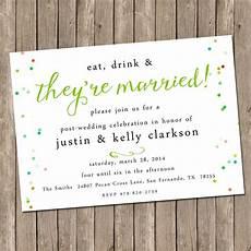 Post Wedding Celebration Invitation our favorite post wedding brunch invitations