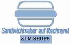 sandwichmaker auf rechnung kaufen
