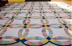 double wedding ring quilt history from yesterday to today