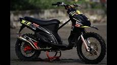 Mio Modif Trail Sederhana by Modifikasi Motor Matik Yamaha Mio Modif Trail