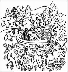 malvorlagen wolf und die sieben geisslein