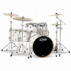 pdp maple concept pdp concept maple cm6 pearlescent white 171 drum kit