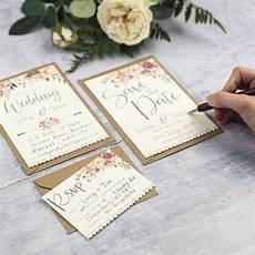 Diy Photo Wedding Invitations