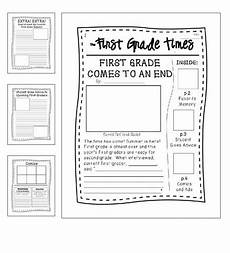 end of year writing activity quot first grade times quot braelynn s pins first grade student