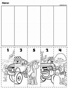 transportation worksheets for pre k 15224 transportation number order cut paste slagalice math for preschool preschool