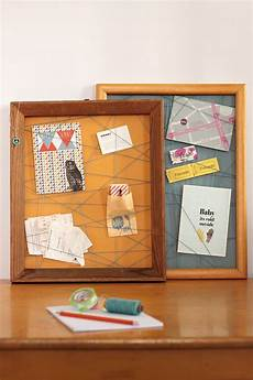 memoboard selber machen pinnwand aus bilderrahmen pinboards made of picture