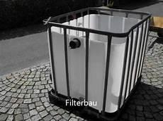 Filterbau Teichfilter Gartenteichfilteranlage