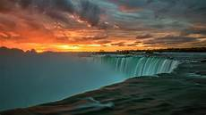 nature wallpaper 4k ultra hd for mobile niagara falls in canada sunset landscape nature 4k ultra