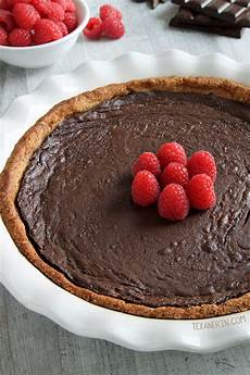 paleo chocolate fudge pie texanerin baking